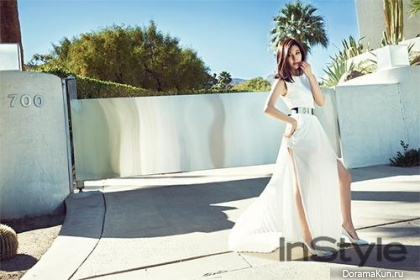 Kim Ha Neul для InStyle Magazine May 2014