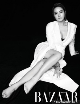 Kim Hye Soo для Harper's Bazaar Korea May 2015