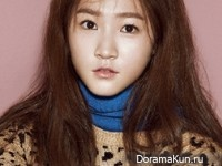 Kim Sae Ron для InStyle October 2014 Extra