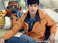 Kim Soo Hyun для BEANPOLE OUTDOOR S/S 2015