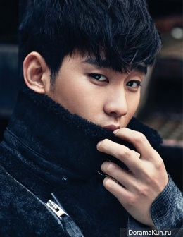 Kim Soo Hyun для Elle January 2015 Extra 2