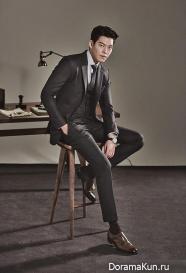 Kim Woo Bin для SIEG F/W 2015 (Часть 1)