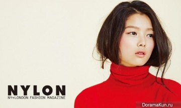 Kim Yoo Jung для Nylon Korea October 2014