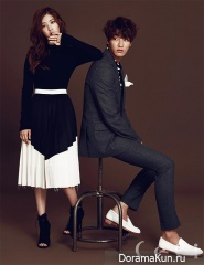 Kim Young Kwang, Jung So Min для CeCi September 2015