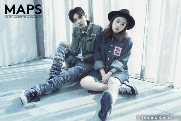 Kisum, Jooyoung для Maps Magazine July 2015