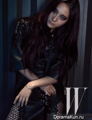 f(x) (Krystal) для W Korea March 2015