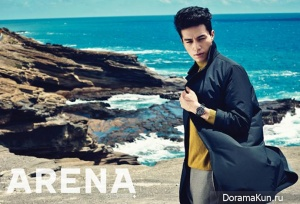 Lee Dong Wook для ARENA HOMME PLUS October 2014