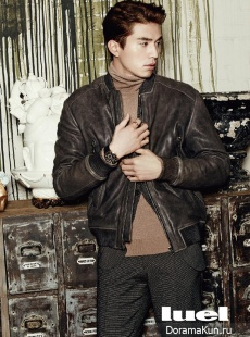 Lee Dong Wook для Luel January 2014
