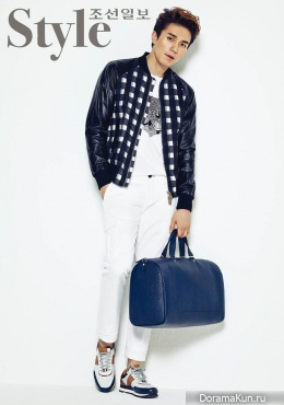 Lee Dong Wook для Style Chosun May 2015