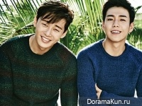 Park Seo Joon, Lee Hyun Woo для Vogue Girl January 2015