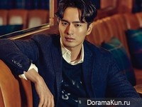 Lee Jin Wook для Esquire Korea October 2015