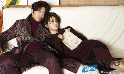 Lee Jin Wook, Yoo In Young для InStyle September 2014 Extra