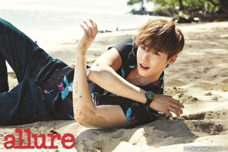 Lee Jong Suk для Allure Korea June 2015