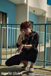 Lee Jong Suk для Marie Claire March 2015