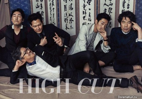 Lee Jung Jae и др. для High Cut Vol.154