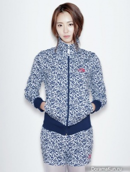 Lee Yeon Hee для The North Face S/S 2015