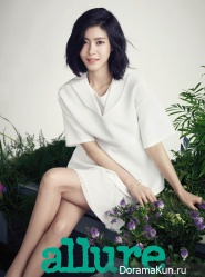 Lee Yoon Ji и др. для Allure April 2015
