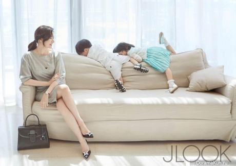 Lee Young Ae для J LOOK May 2015