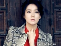 Lee Young Ae для Style Chosun December 2014