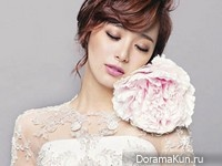 Lee Young Eun для Wedding21 August 2014