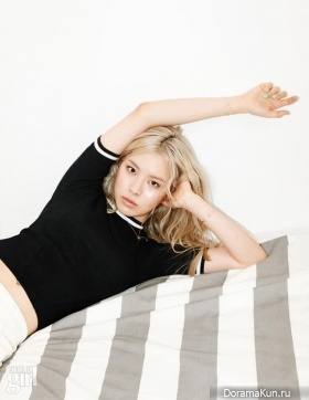 Lim Kim для Vogue Girl June 2015