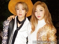 f(x) (Amber, Luna) для The Star October 2015