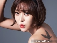 Brown Eyed Girls (Narsha) для W Korea October 2014