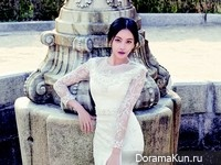 Oh Yeon Seo для InStyle Weddings May 2015