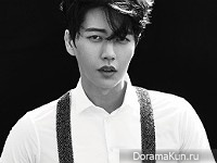 Park Hae Jin для Allure Korea October 2015 Extra
