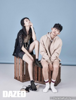 Choi So Ra, Park Hyeong Seop для Dazed and Confused April 2015