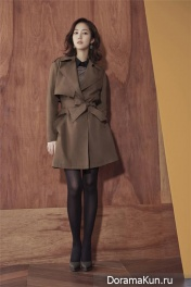 Park Min Young для COMPAGNA Fall 2015
