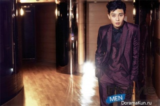 Park Seo Joon для InStyle Korea September 2014
