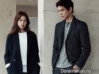 Park Shin Hye, Sung Joon для Mind Bridge Fall 2015