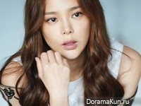 Park Si Yeon для InStyle Korea October 2014
