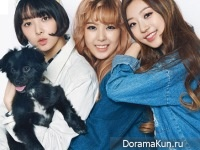 SONAMOO (Newsun, High.D, Sumin) для SURE March 2015