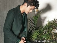 Seo In Guk для Marie Claire October 2015 Extra