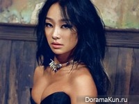 Hyorin (Sistar) для Cosmopolitan Korea July 2015 Extra