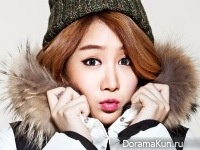 Sistar (Hyorin, Soyu) для Bcuz F/W 2014 CF