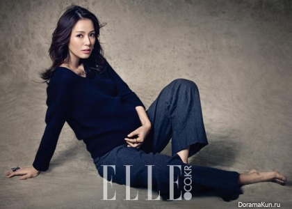 Son Tae Young для Elle January 2015 Extra