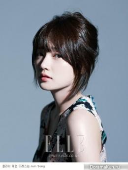 Song Ha Yoon для Elle August 2014