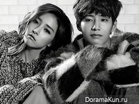 Song Jae Rim, Kim So Eun для Allure December 2014 Extra