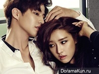Song Jae Rim, Kim So Eun для Allure December 2014