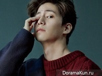 Song Jae Rim для Marie Claire Korea December 2014
