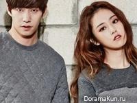 Song Jae Rim, 4minute (Gayoon) для Marie Claire November 2014