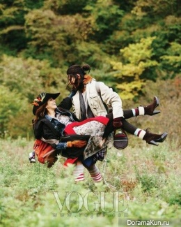 Song Jae Rim, Lee Ji Yeon для Vogue Korea 2013