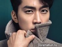 Song Seung Heon для L'Officiel Hommes December 2014