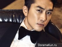 Song Seung Heon для L'Officiel Hommes December 2014 Extra