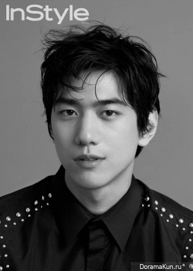Sung Joon для InStyle Korea December 2015