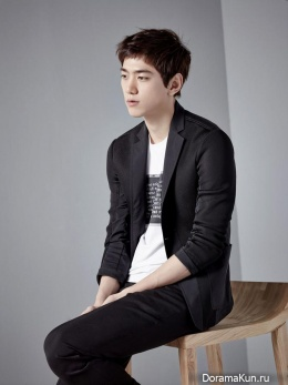 Sung Joon для Mind Bridge SS 2015
