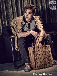 Super Junior (Choi Si Won) для Esquire March 2015